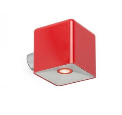 Applique Murale Square Rouge 10cm