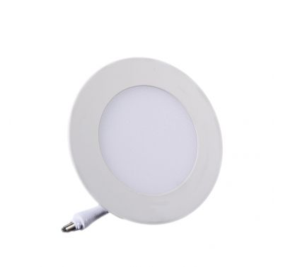 Plafonnier Led 6W Rond Blanc naturel