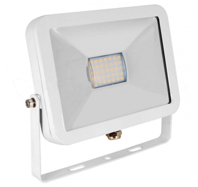 Projecteur Led 10W Ultra-fin SMD I-DESIGN Blanc Froid - IP65