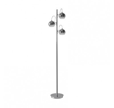 Lampadaire Discovery Intérieur Finition Chrome G9 40 watts