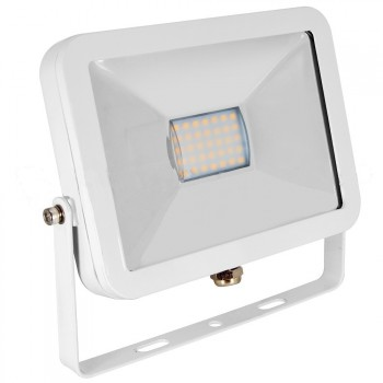 Projecteur Led 20W Ultra-fin SMD I-DESIGN Blanc Naturel - IP65