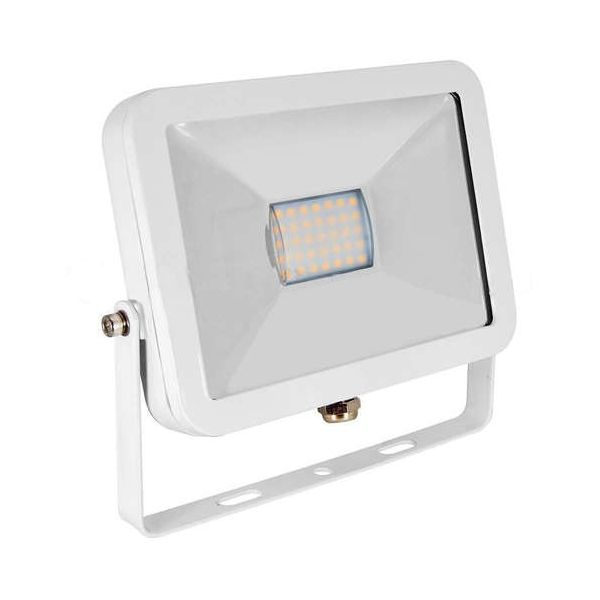Projecteur Led 30W Ultra-fin SMD I-DESIGN Blanc Froid - IP65 class=