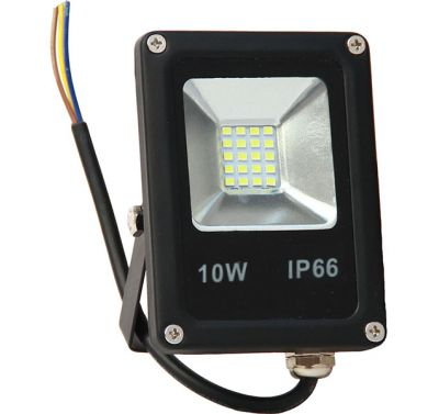 Projecteur Led 10W Ultra-fin SMD Blanc Naturel - IP66
