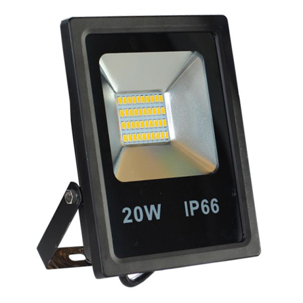 Projecteur Led 20W Ultra-fin SMD Blanc Froid - IP66 class=