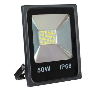 Projecteur Led 50W Ultra-fin SMD Blanc Chaud - IP66