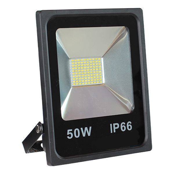 Projecteur Led 50W Ultra-fin SMD Blanc Froid - IP66 class=