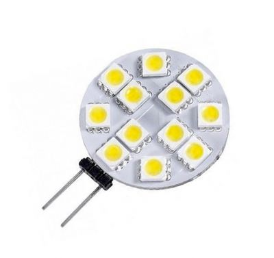 Ampoule Led G4 2W 12V 120° Blanc Froid