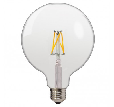Ampoule Led Bulb à Filament G125 E27 6,5w Blanc Naturel