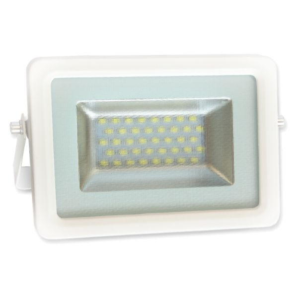 Projecteur Led 20W Ultra-fin SMD I-DESIGN 2 Blanc Naturel - IP65 class=