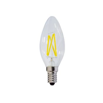 Ampoule Flamme Led C35 4W E14 Blanc Naturel
