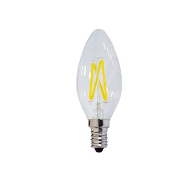 Ampoule Flamme Led C35 4W E14 Blanc Chaud Dimmable