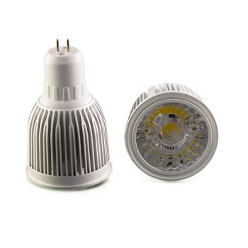 Spot Led COB MR16 COB 4W Blanc Chaud