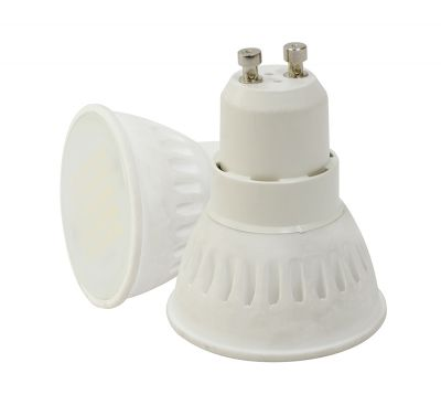 Spot Led SMD GU10 220V CERAMIC 6W Blanc Froid