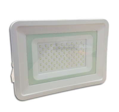 Projecteur Led 70W Ultra-fin SMD Classique Blanc Froid - IP65