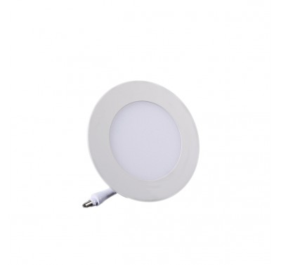 Plafonnier LED Rond Extra-plat 3W Blanc Naturel