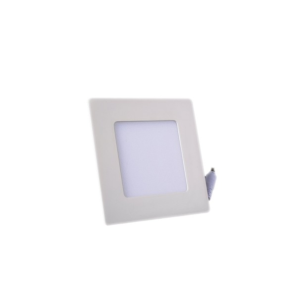 Plafonnier LED Carré Extra-plat 3W Blanc Naturel class=