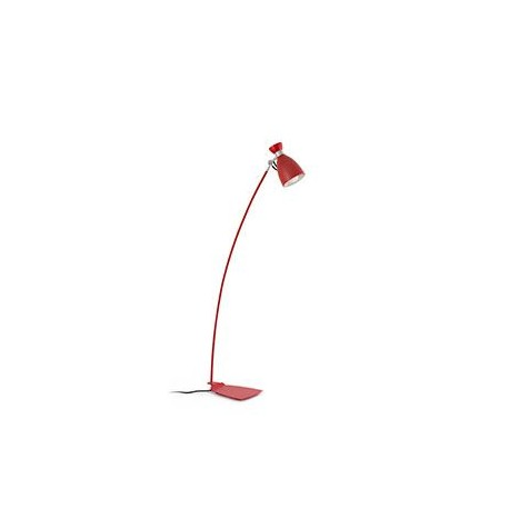 Lampadaire Interieur Retro Rouge 20 Watts E14 Ip20 20009
