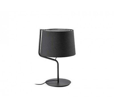 Lampe de table Berni Noir 20 Watts E27
