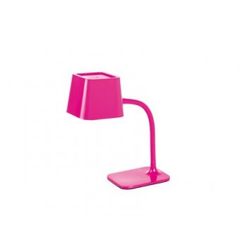 Lampe de table Flexi rose 15 Watts E27