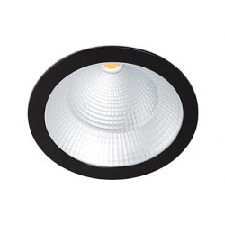 Spot encastrable Solid Noir 24-36-42 Watts Blanc Naturelle