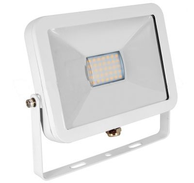 Projecteur Led 10W Ultra-fin SMD I-DESIGN Blanc Naturel - IP65