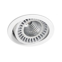 Spot encastrable Optic Blanc 18-25 Watts Blanc Naturelle