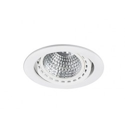 Spot encastrable Mini Optic Blanc 24 Watts Blanc Chaud