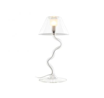 Lampe de table Eolo verre 40 Watts G9