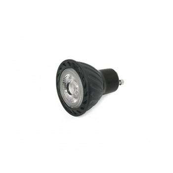 GU10 LED 8W 4000K 60° DIMABLE NEGRA