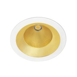 Spot encastrable Solid Gris 26 Watts Blanc Chaud