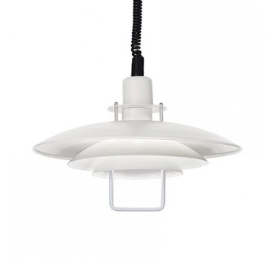 Suspension Copenhagen Finition Noir E27 60 Watts