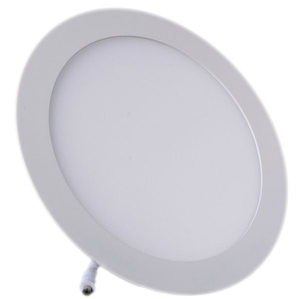 Plafonnier Led 18W Rond Blanc naturel class=
