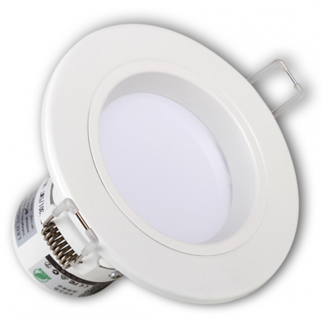 Spot intérieur Led 18W BUILT-IN Rond IP44 Blanc froid