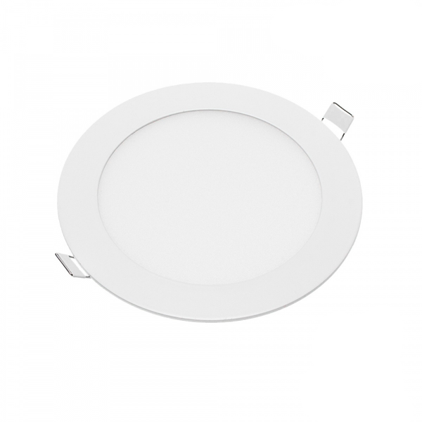 Plafonnier Led Rond Extra-plat 3W - Blanc Chaud class=