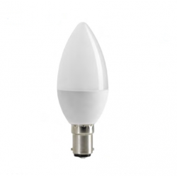 Ampoule Led Bougie B15 C35 6W Blanc Chaud