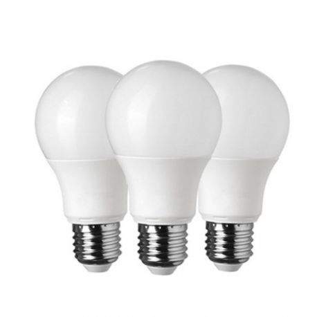 3 Ampoules LED E27 10W Blanc Froid