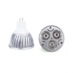 Ampoule Spot Led GU5.3/MR16 220V 3 Watt Blanc Chaud