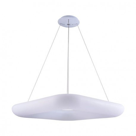 Suspension Sandy White Led Blanc Chaud 38 Watts