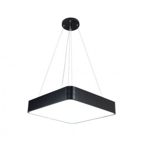 Suspension Sandy Noir Led Blanc Chaud 38 Watts