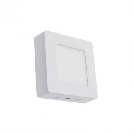Plafonnier Led de surface Carré 6W