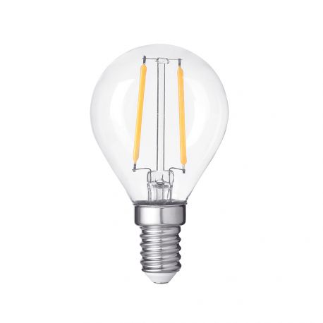 Ampoule Flamme Led G45 4W E14 dimmable