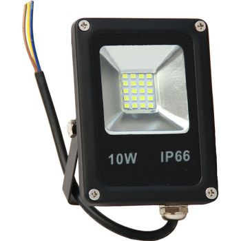 Projecteur Led 10W Ultra-fin SMD Blanc Chaud - IP66