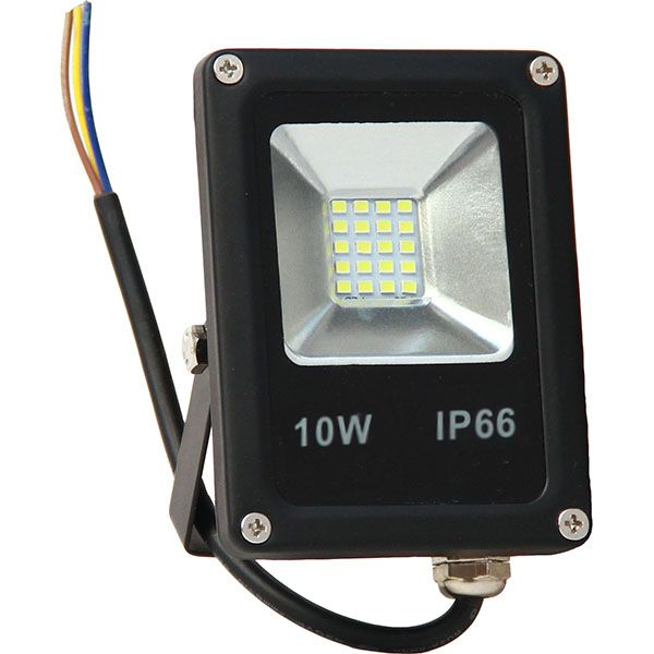 Projecteur Led 10W Ultra-fin SMD Blanc Froid - IP66 class=