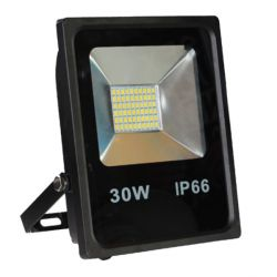 Projecteur Led 30W Ultra-fin SMD Blanc Naturel - IP66