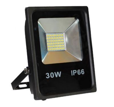 Projecteur Led 30W Ultra-fin SMD Blanc Chaud - IP66