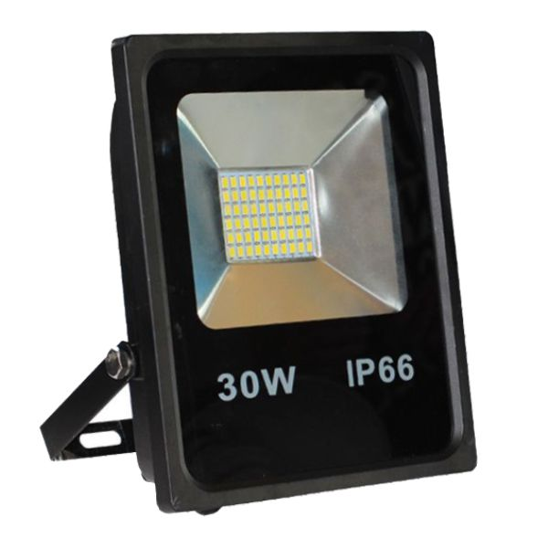Projecteur Led 30W Ultra-fin SMD Blanc Froid - IP66 class=