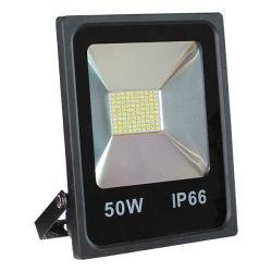 Projecteur Led 50W Ultra-fin SMD Blanc Naturel - IP66