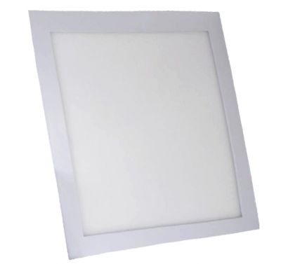 Plafonnier Led 24W Carré Blanc Chaud