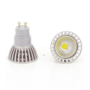 Spot Led COB GU10 4W Dimmable Blanc Chaud