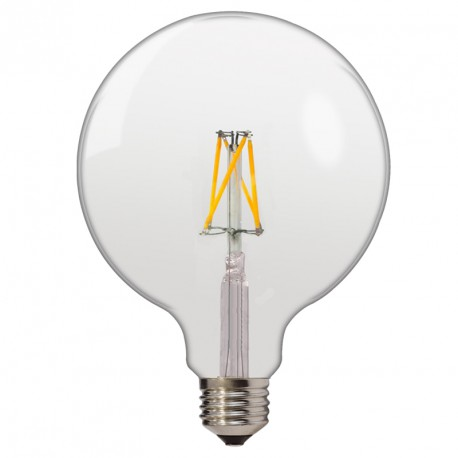 Ampoule Led Bulb à Filament G125 E27 4w Blanc Naturel